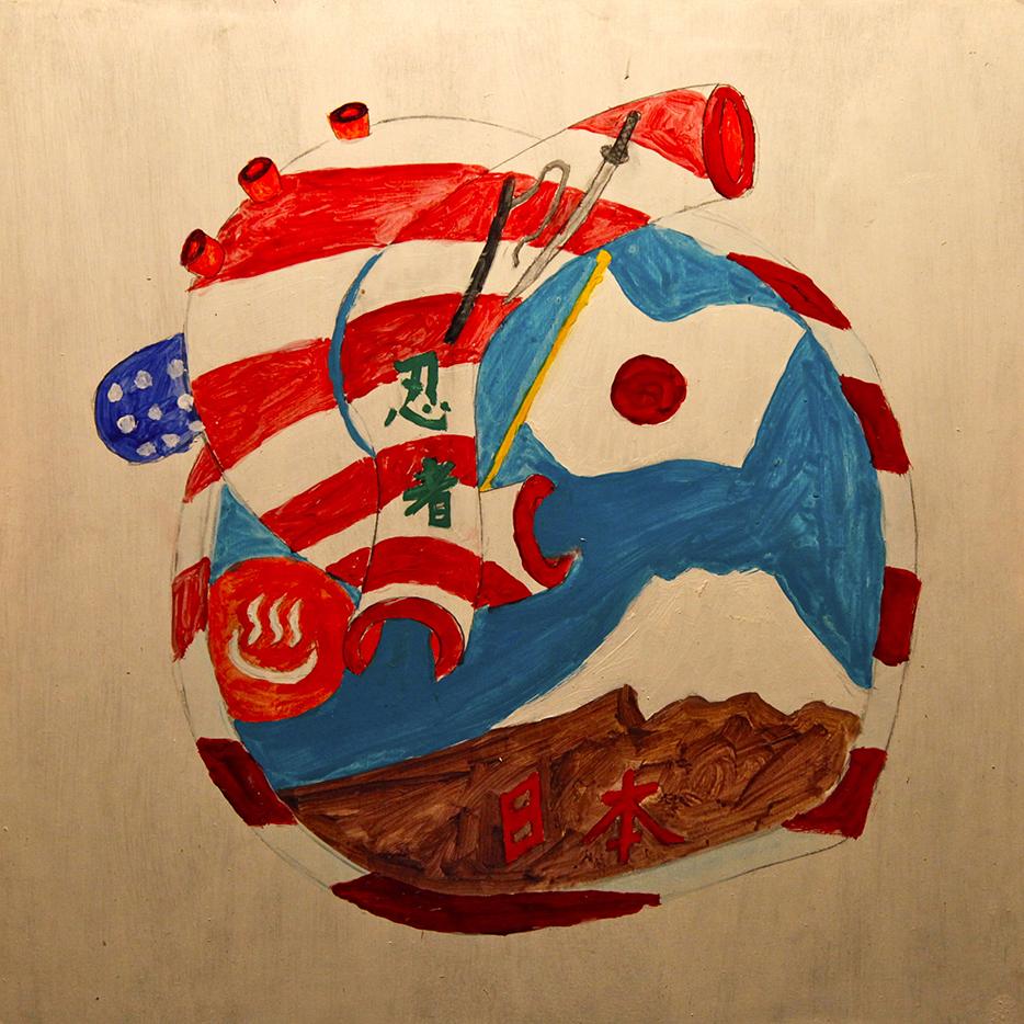 nicolina, johnson, hearts, world, free art society, chiba, japan, arts, children