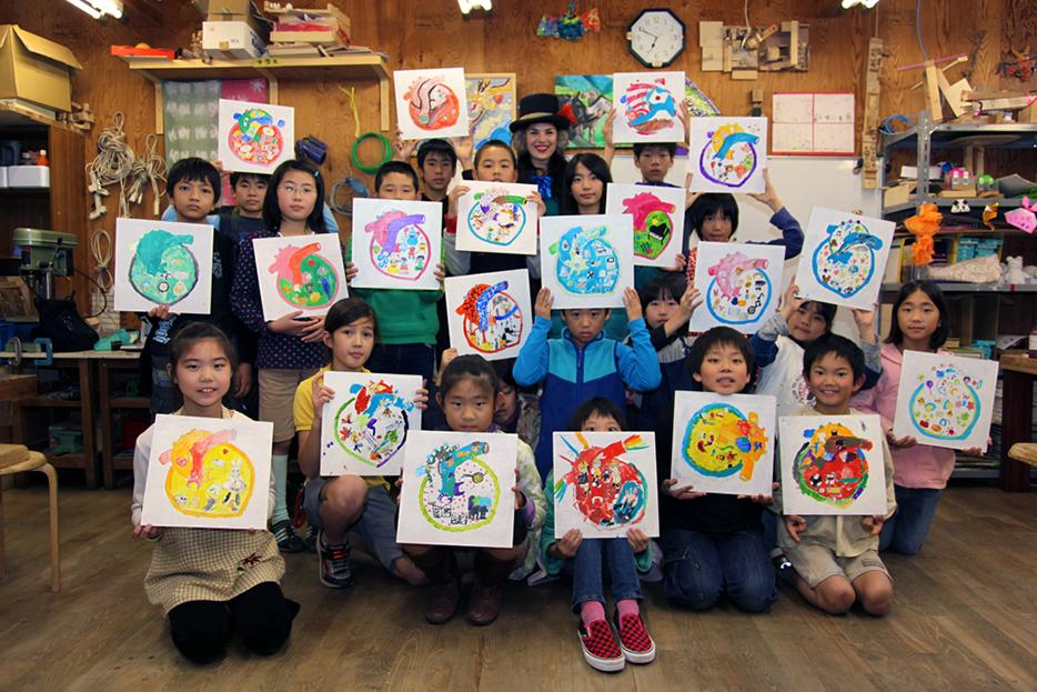 nicolina johnson, chiba, japan, art, hearts of the world, project